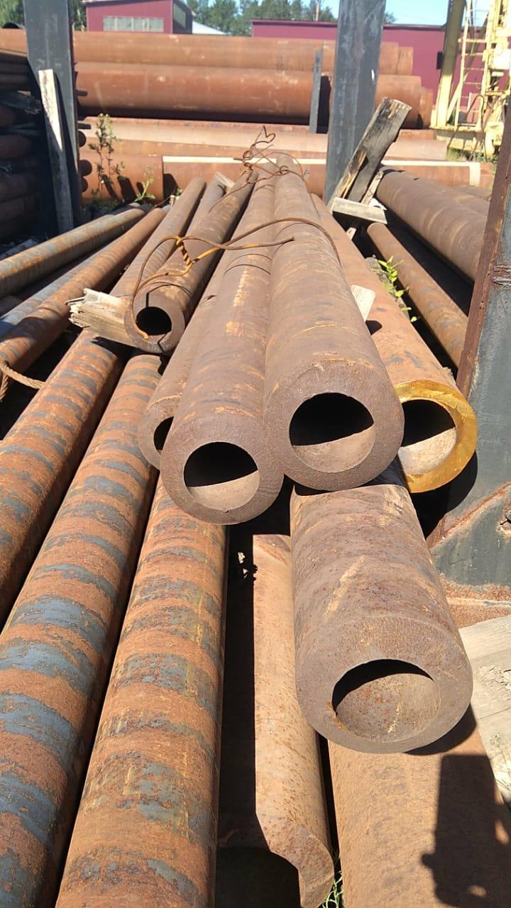 Труба толстостенная 127х25 горячекатаная бесшовная стальная ГОСТ 8732-78 в наличии на складе от 1 метра.