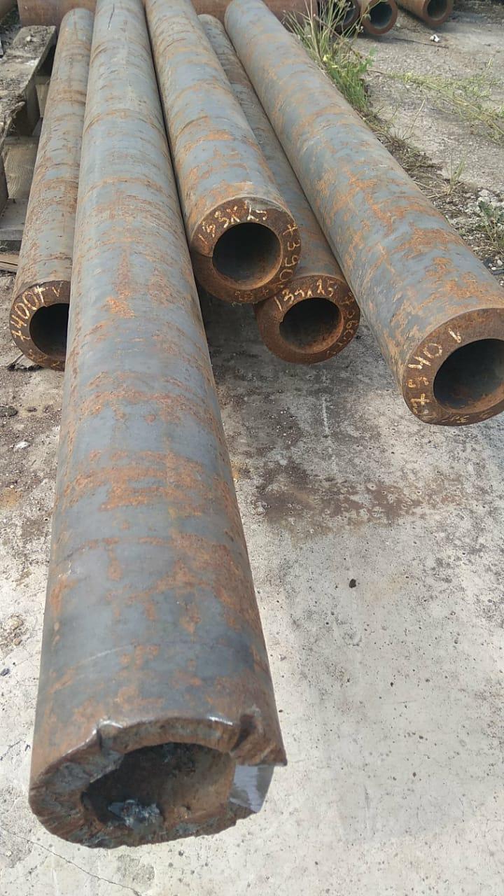 Трубы черные стальные 133/25 сталь 20 горячедеформированные ГОСТ 8731-74 можно купить со склада от 1 метра.