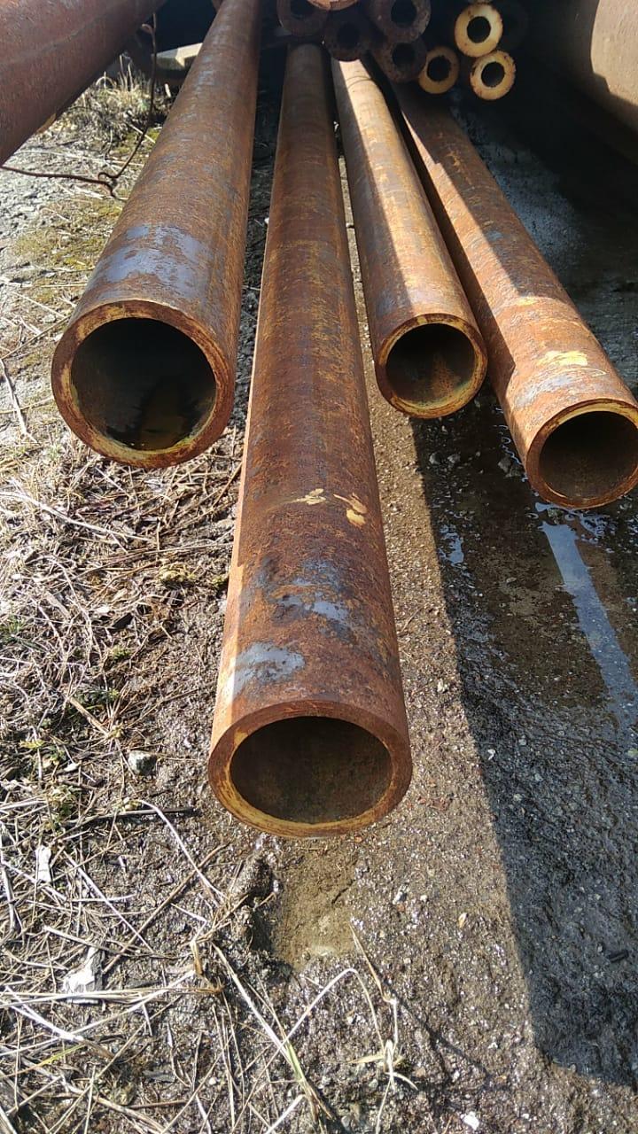 Труба 102*10 толстостенная стальная бесшовная горячекатаная ГОСТ 8732-78 от 1 метра.