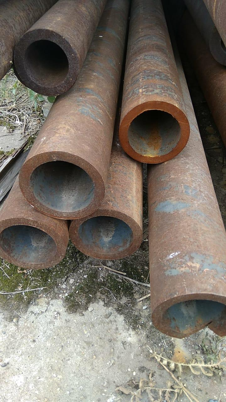 Продам трубу 121х14 толстостенную стальную бесшовную ГОСТ 8732-78 от 1 метра