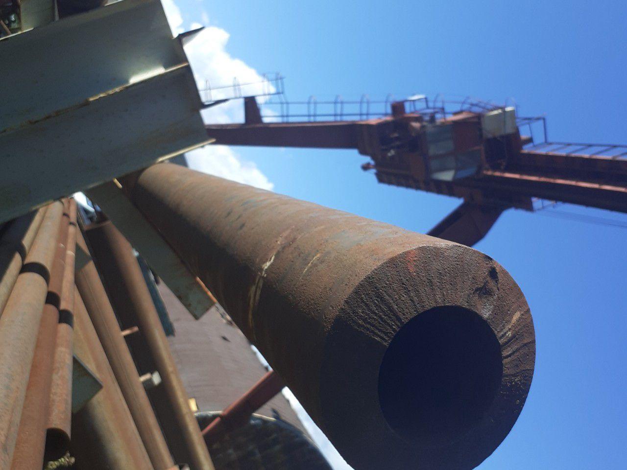 Трубы черные стальные 127/22 горячедеформированные ГОСТ 8731-74 можно купить со склада от 1 метра.