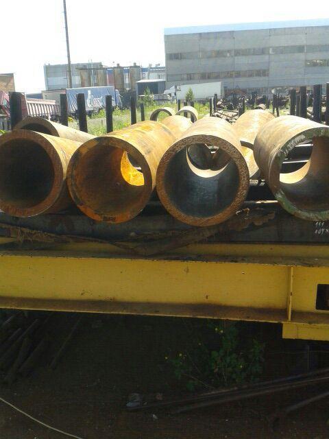 Труба 377х36 толстостенная стальная бесшовная горячекатаная ГОСТ 8732-78  в наличии на складе от 1 метра.