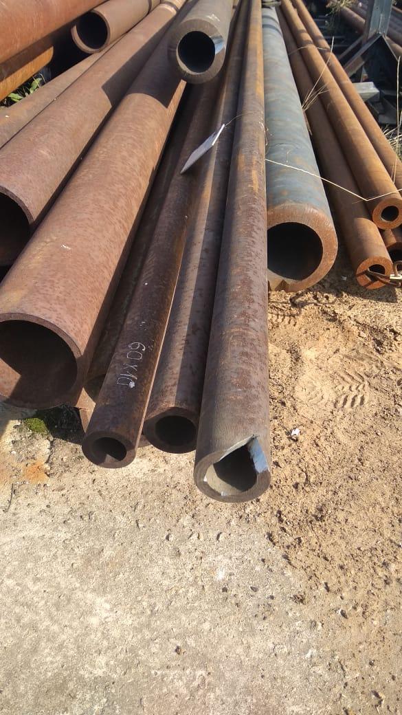 Труба 60х10 толстостенная стальная бесшовная горячекатаная ГОСТ 8732-78  от 1 метра