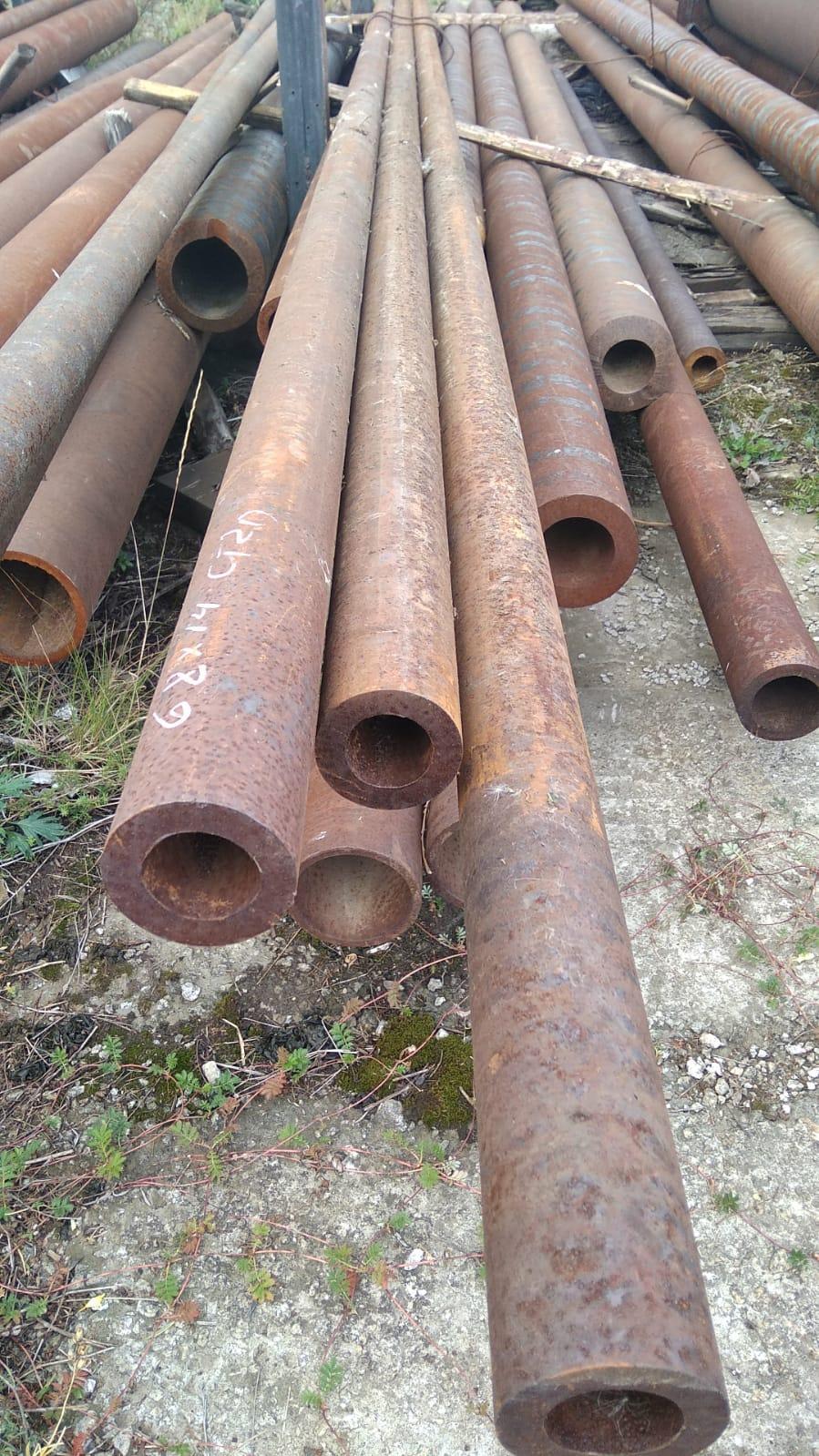 Трубы черные стальные 68х14 горячедеформированные ГОСТ 8731-74 можно купить со склада от 1 метра.