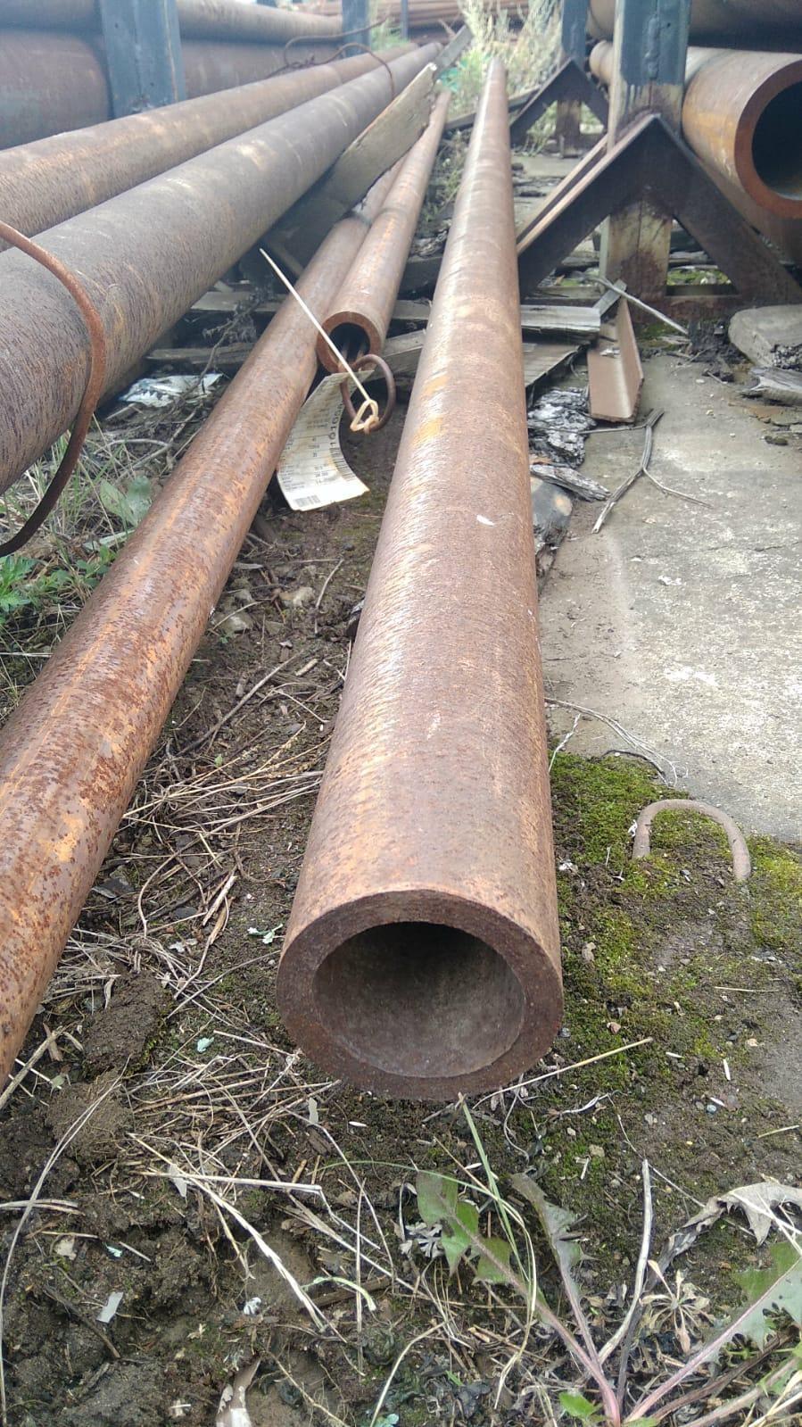 Труба толстостенная 89х12 горячекатаная бесшовная стальная ГОСТ 8732-78 в наличии на складе от 1 метра.